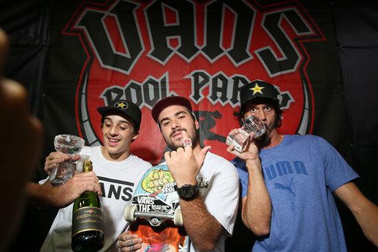 The Vans Pool Party winners