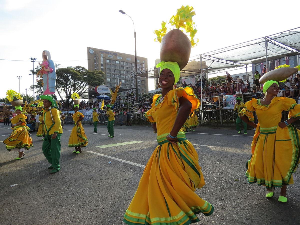 Celebrations of south america Feria de Cali dancers