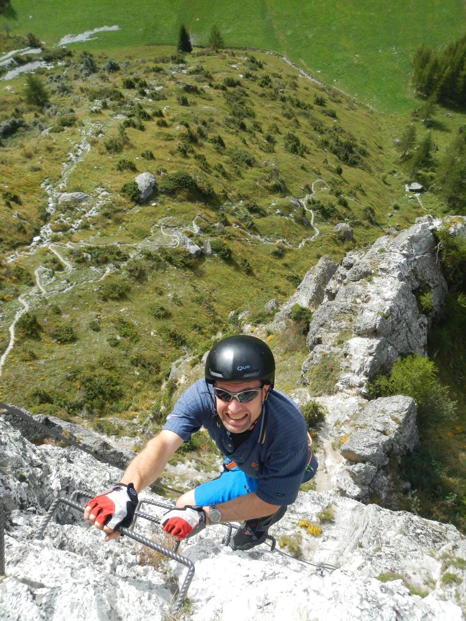 Peisey-Vallandry-via-ferrata-Dolomites