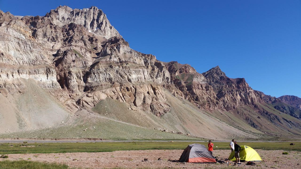 Valle Plomo, close to Punta de Vacas.