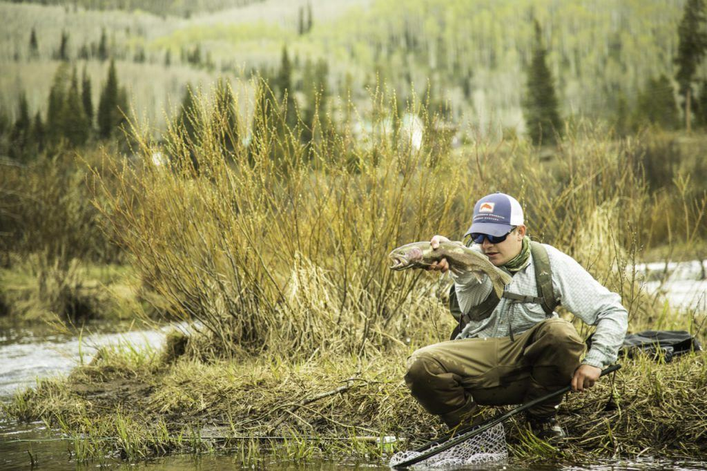Fly fishing in Colorado