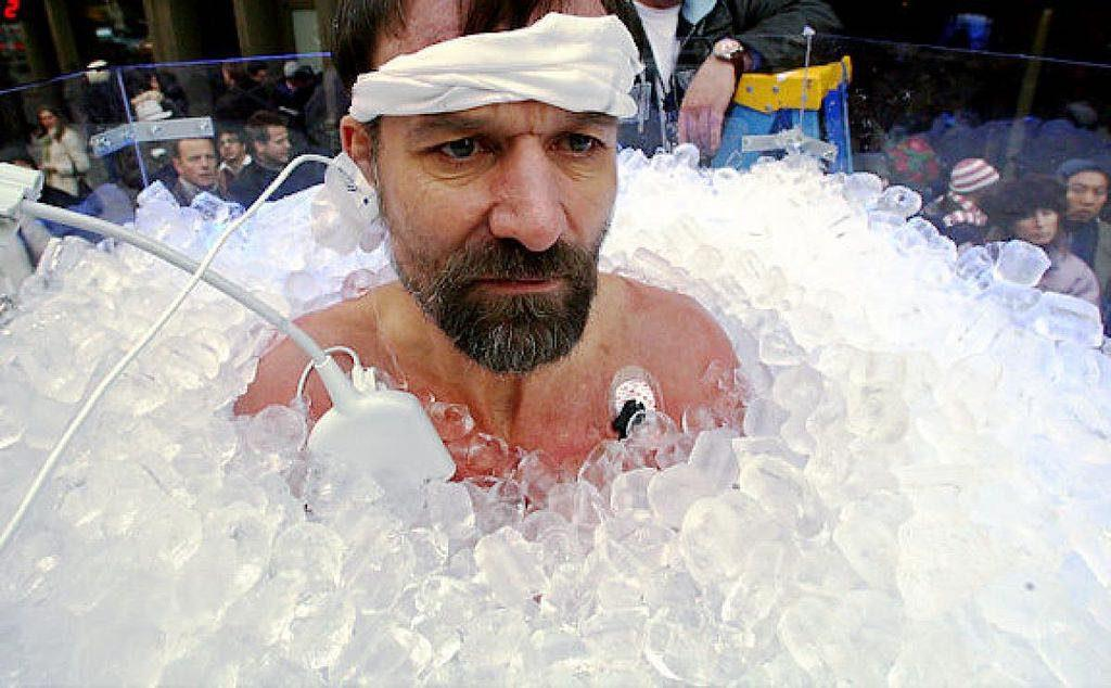 how to recover after an ultramarathon by tasking an ice bath