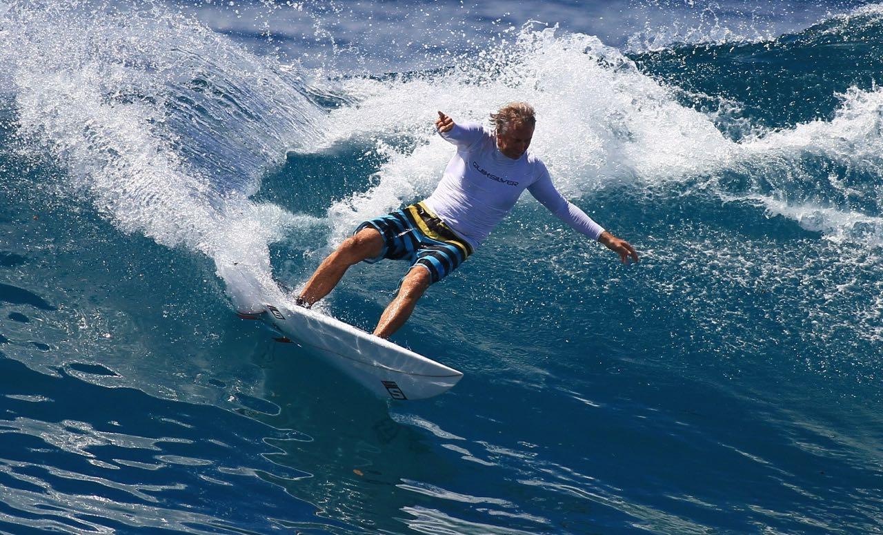 Simon Anderson thruster surfboard design