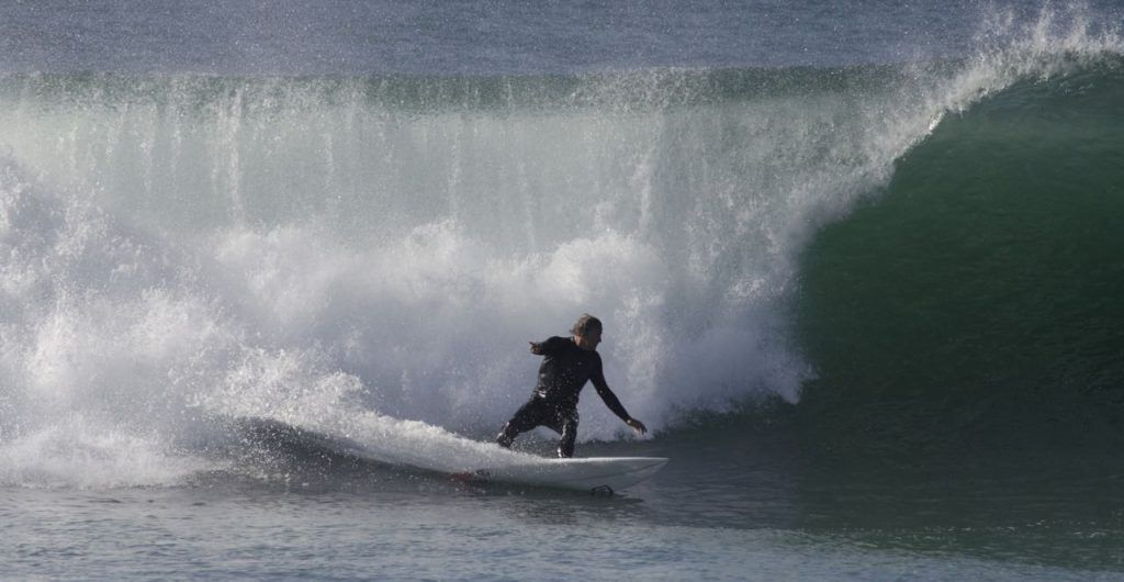 Simon Anderson the creator of the Thruster surfboard