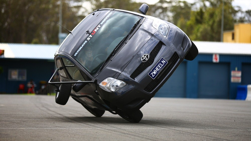 Christmas gifts Stunt driving Photo: weekendnotes