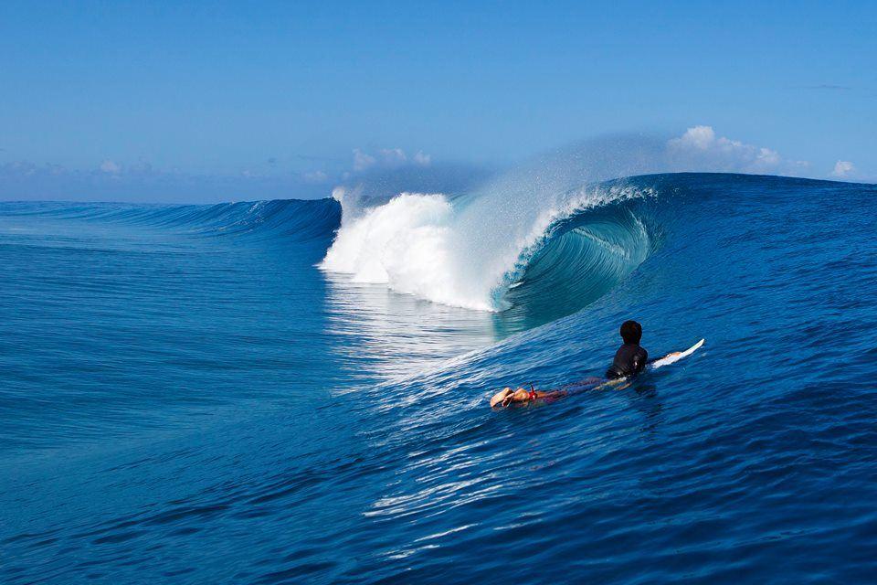 Tahiti Pro Teahupoo, one of the heaviest waves in the world