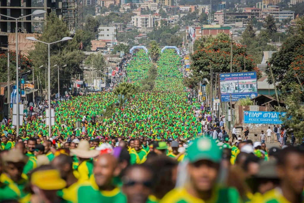 The Great Ethiopian Run 2017, one of the best marathons in africa