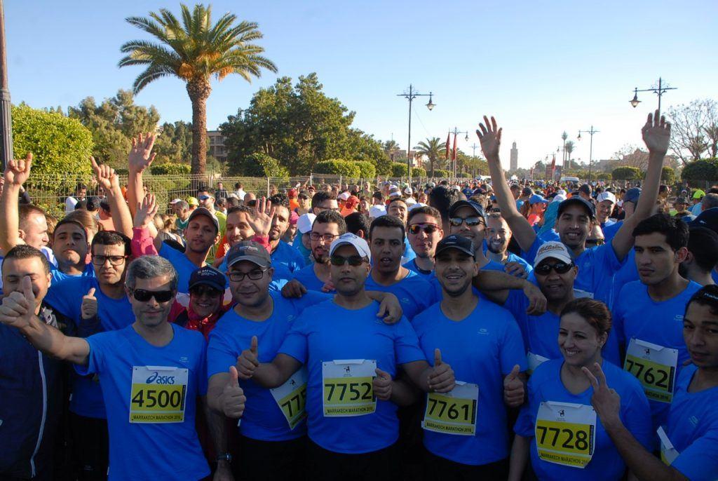 Marrakech marathon, one of the best marathons in Africa