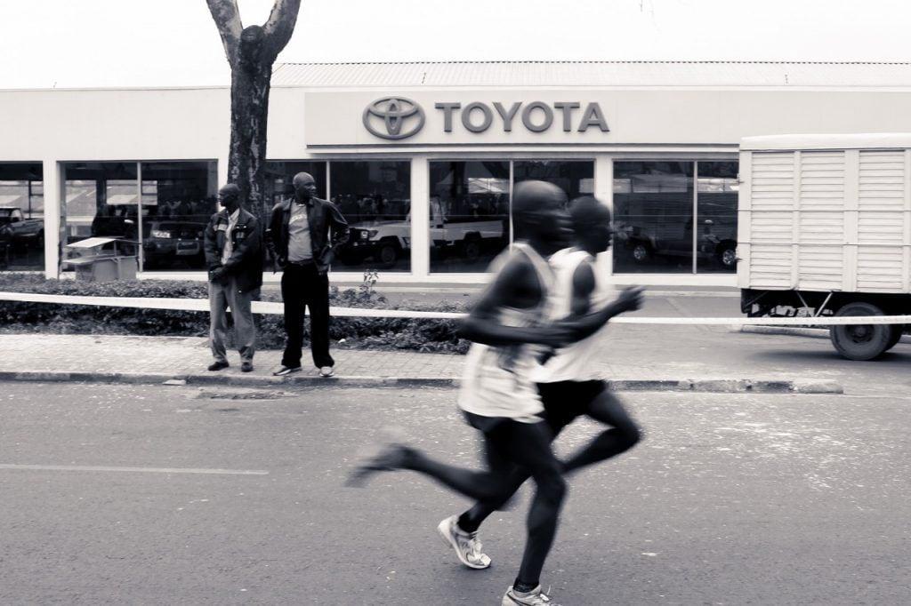 Nairobi Marathon, one of the best marathons in africa. credit - Xiaojun Deng