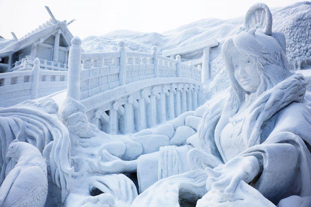 Sapporo Snow Festival Sculpture
