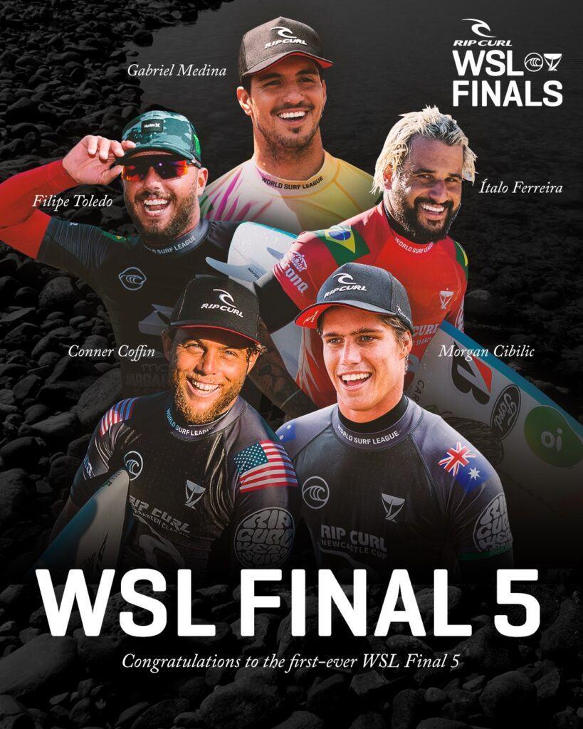 WSL Trestles Finalists