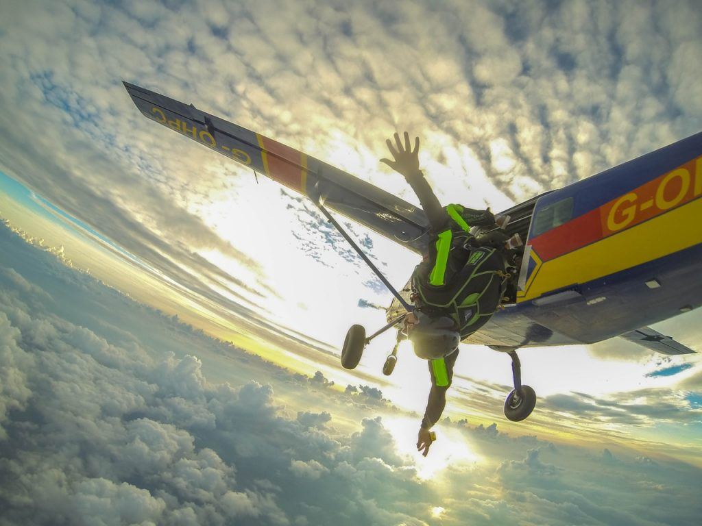global degree filmmaker andrew santos, Biggest Adventure skydiving.jpg