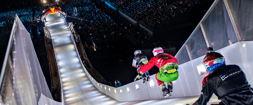 red bull crashed Ice. Photo credit: Red Bull