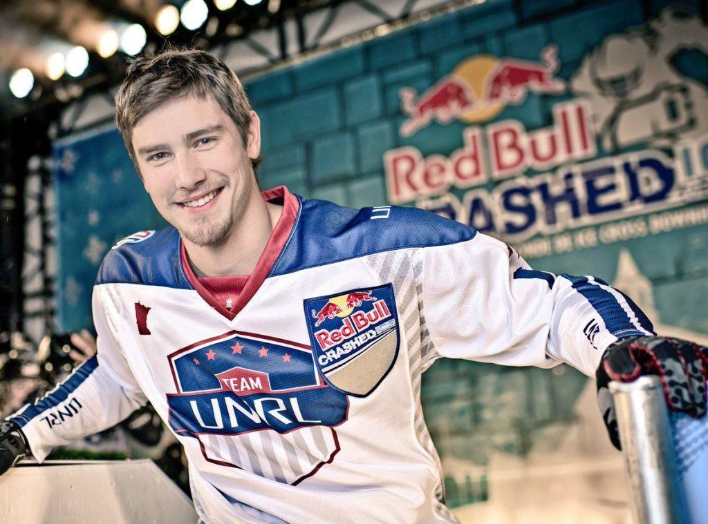red bull crashed ice Athlete Matt Johnson