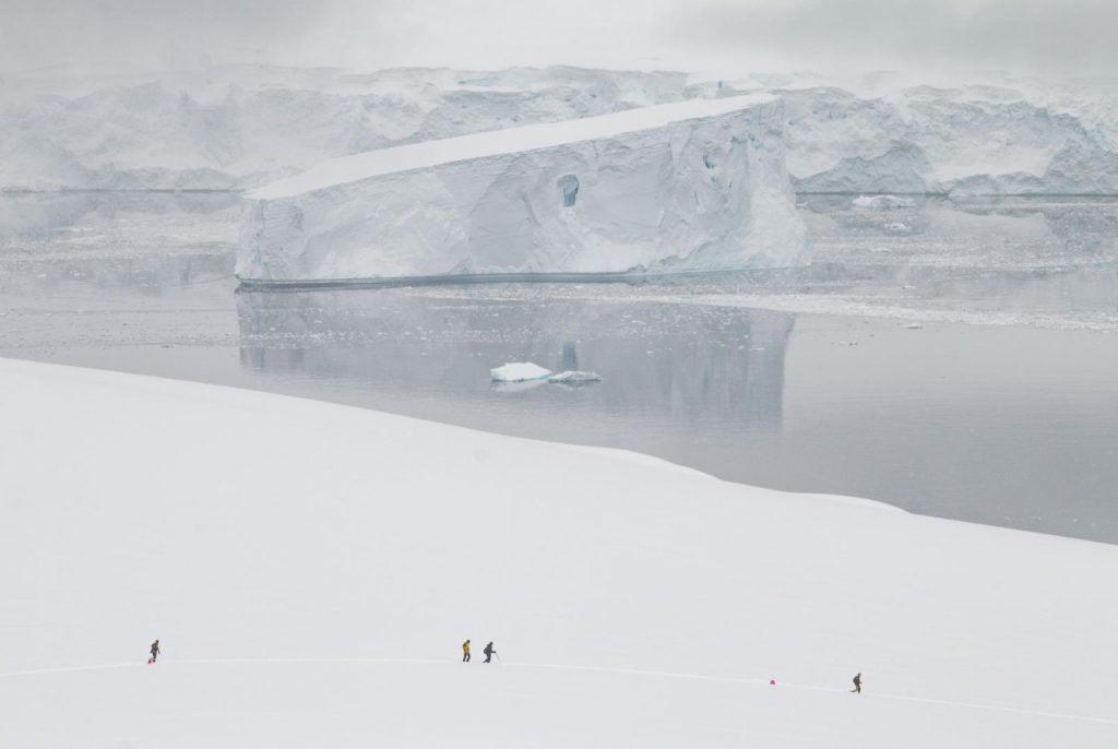 Danko Island surrounded by icebergs at the Last Desert race. Photo Credit- 4Deserts. 4 Deserts Grand Slam