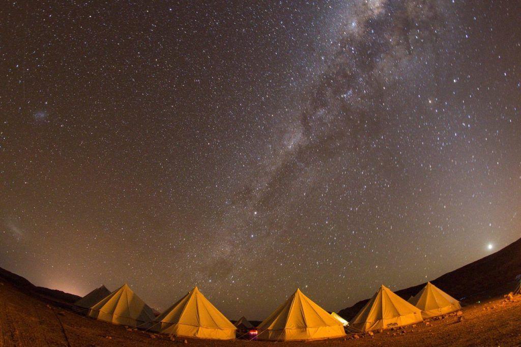 Starry night during Atacama Crossing race. Photo Credit- 4Deserts. 4 Deserts Grand Slam