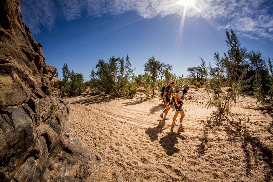 Desert Ultra in Namibi one of the Toughest Events in the World