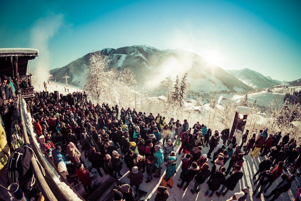 Rave on Snow in Saalbach, Austria