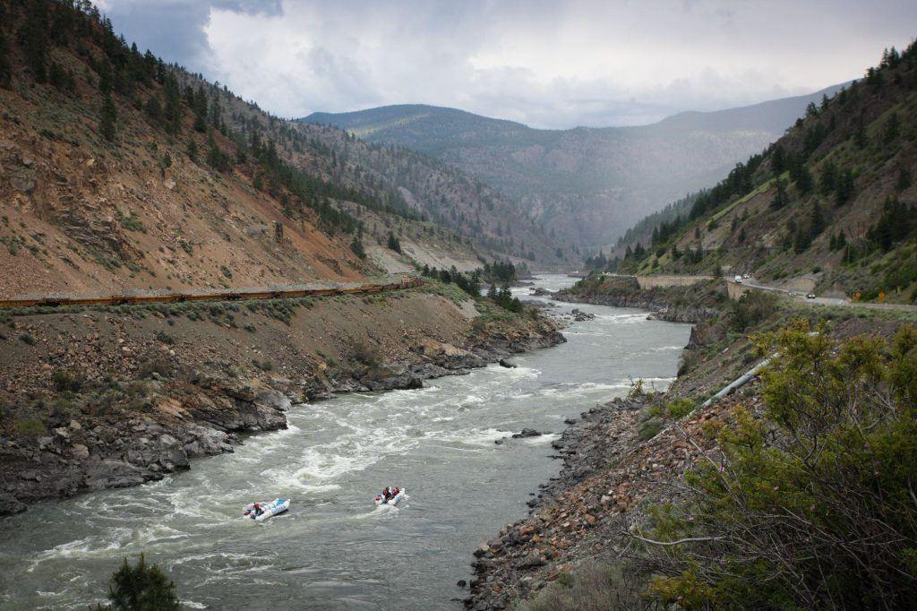 Rad Days River Rafting Kumsheen BC, Canada