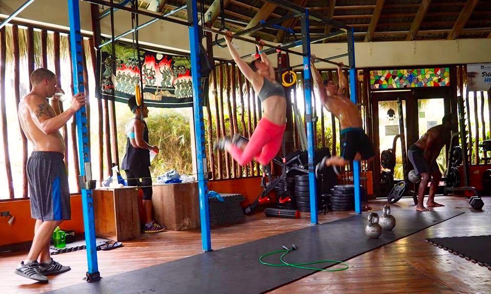 Zendo Fitness Center at the eXtreme Hotel, Cabarete, Dominican Republic