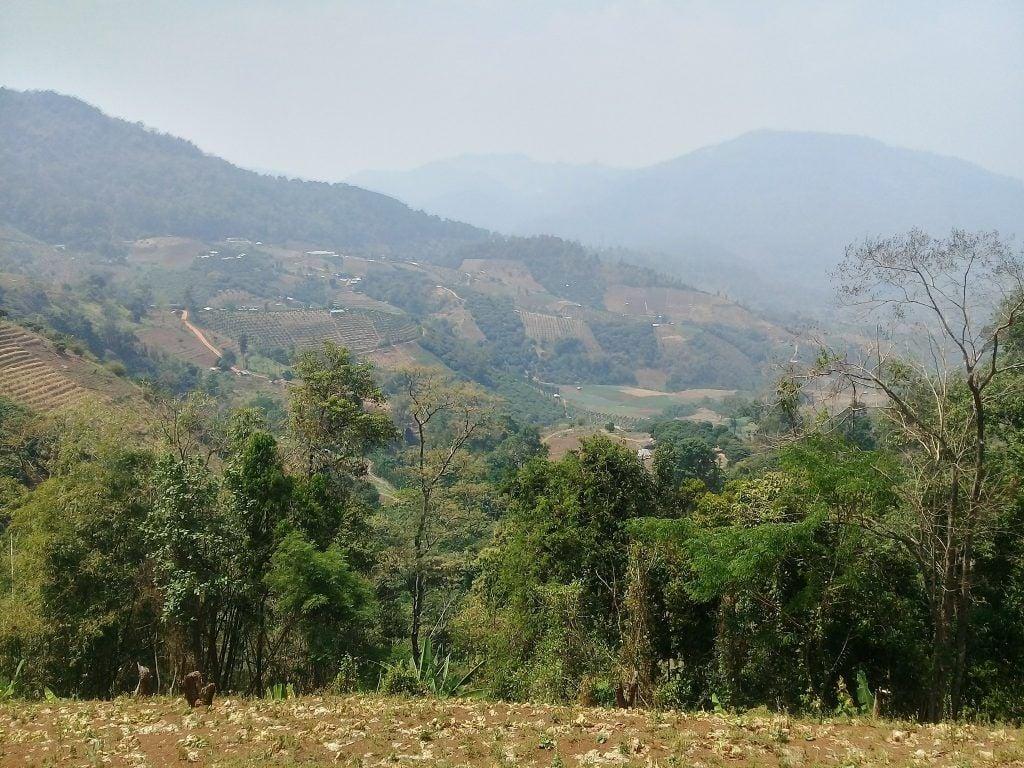 Stunning countryside Mountain Biking In Thailand