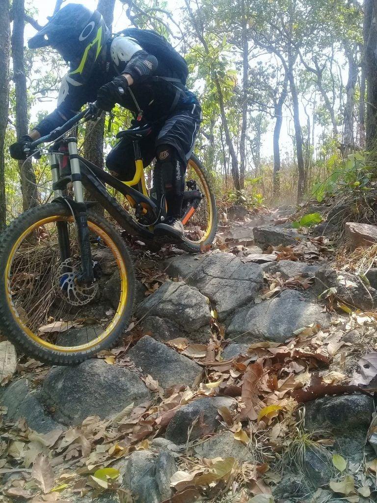 downhill mountain biking In Thailand
