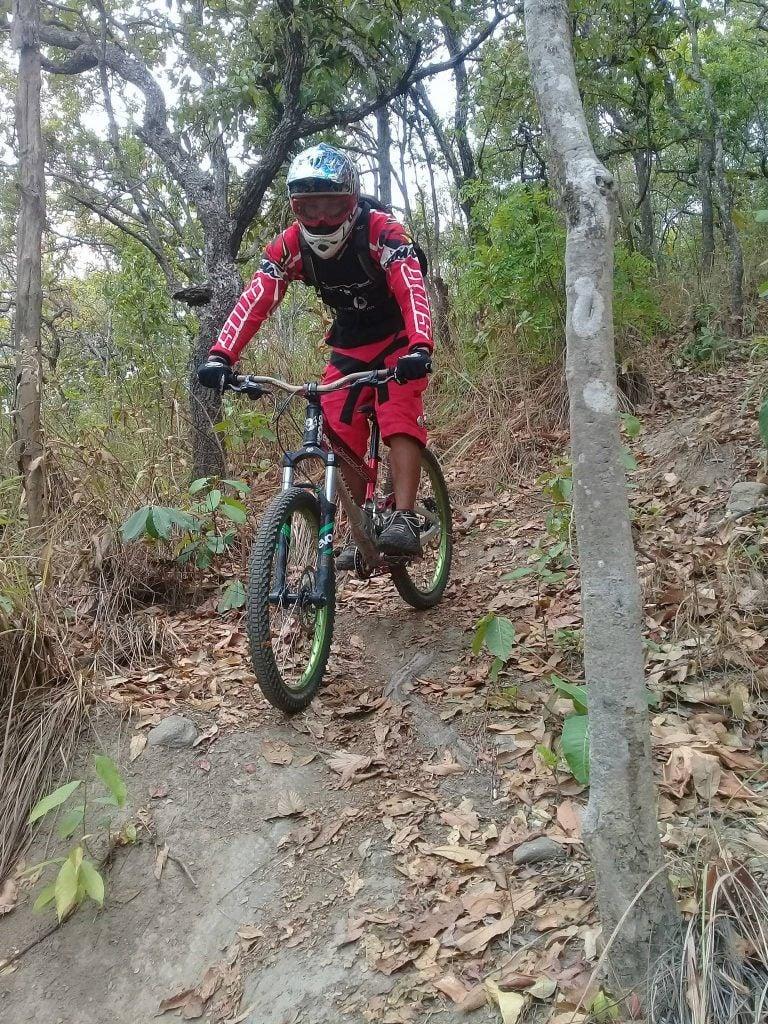 enduro mountain biking In Thailand