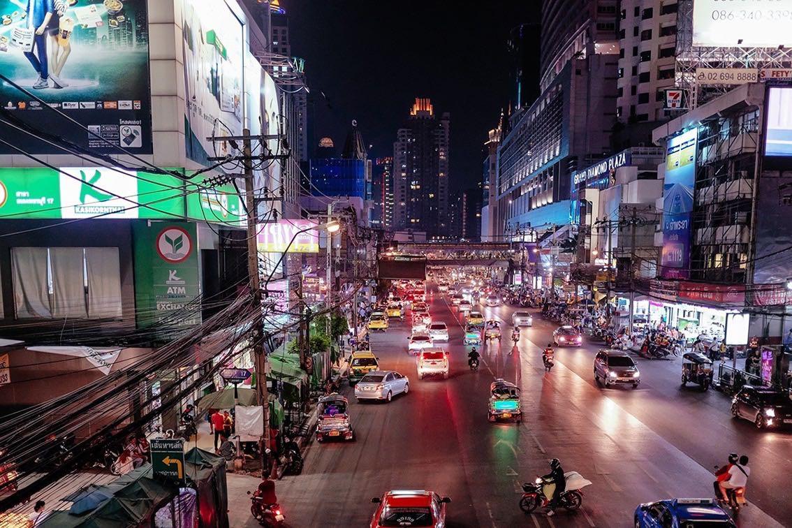 Alternative underground bars in Bangkok, Thailand