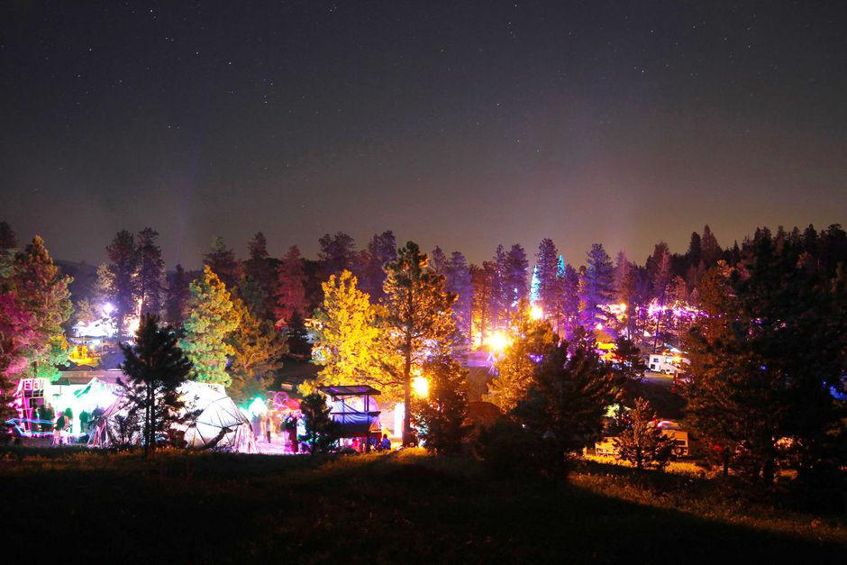 Apogaea in Valdez Colorado is one of the best regional burning man events in the world