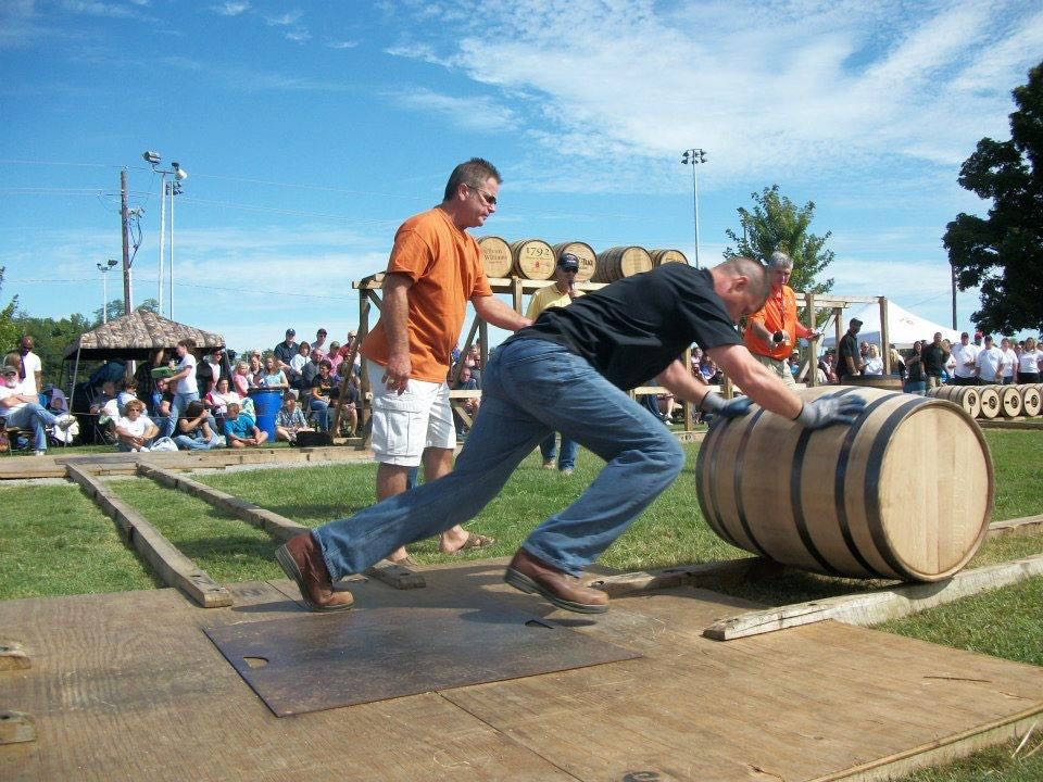 Barrel Racing at the Kentucky Bourbon Festival in the United States, one of the Best Drinking Festivals In The World