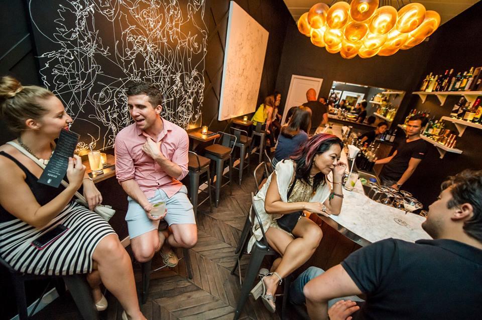 Cicada bar, one of the best bars in Phnom Penh, Cambodia