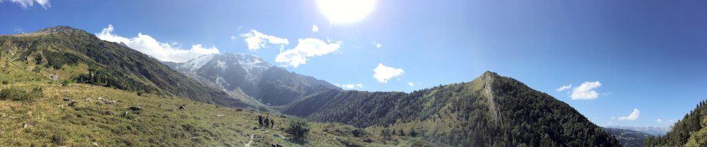 trekking and hiking in Chamonix