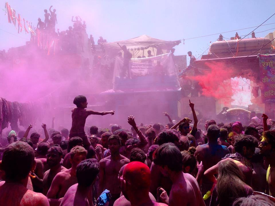 Celebrate one of the most colorful festivals in march, holi across Nepal and India backpacking the asian trail