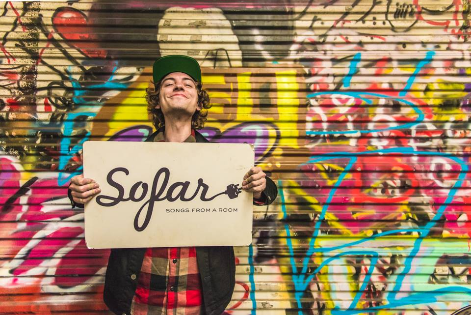 SoFar Sounds. Josh Whitehouse playing in Los Angeles