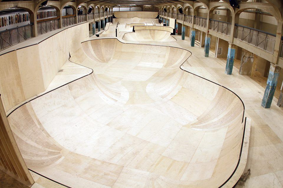 Source park in hastings, uk is the world's largest indoor skatepark