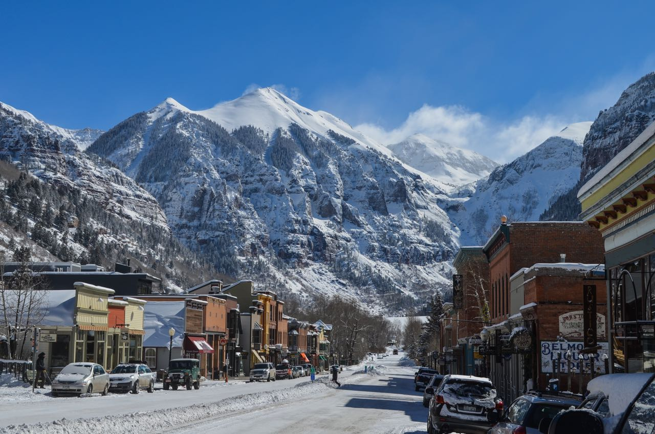The mountain town of Telluride, Colorado hosts Telluride Mountainfilm ever year in May