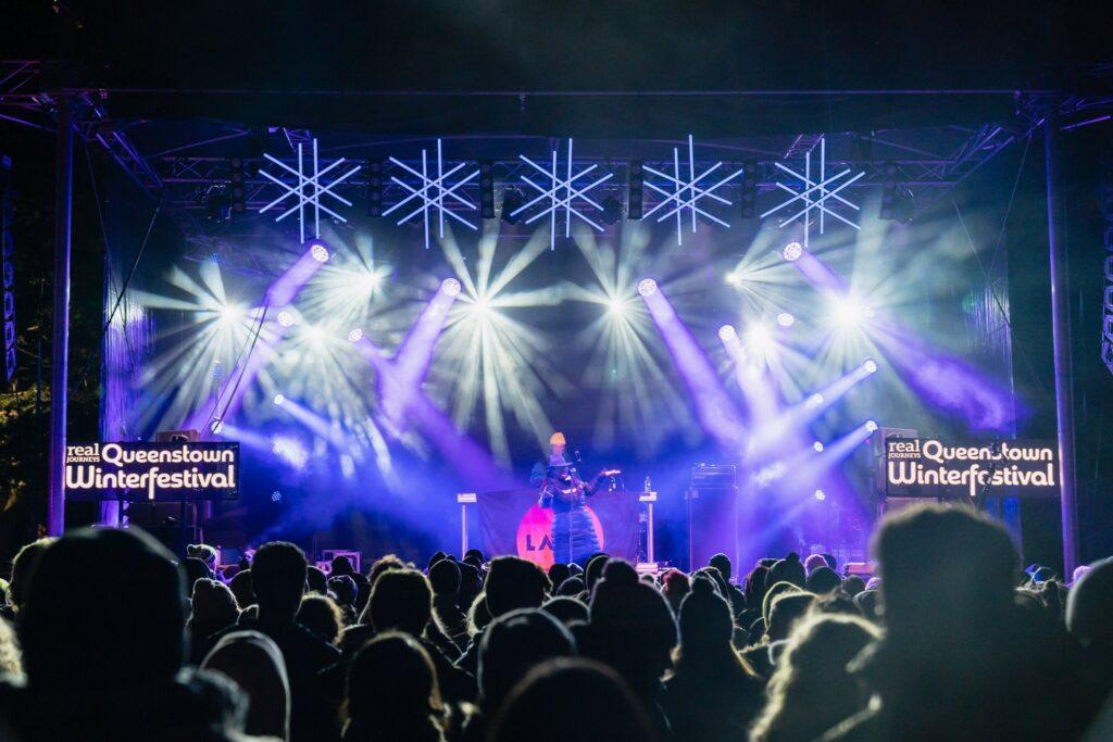 music and parties at night in Queenstown