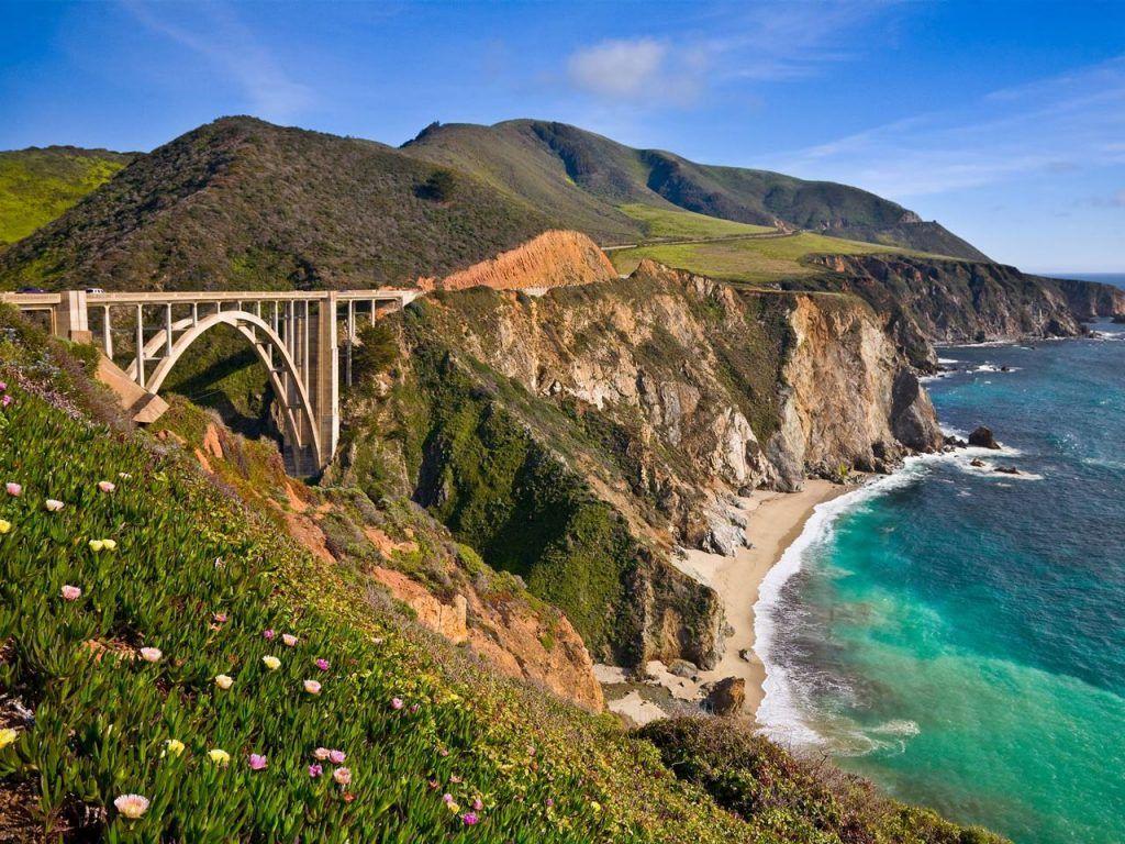run in north america along the Big Sur, CA