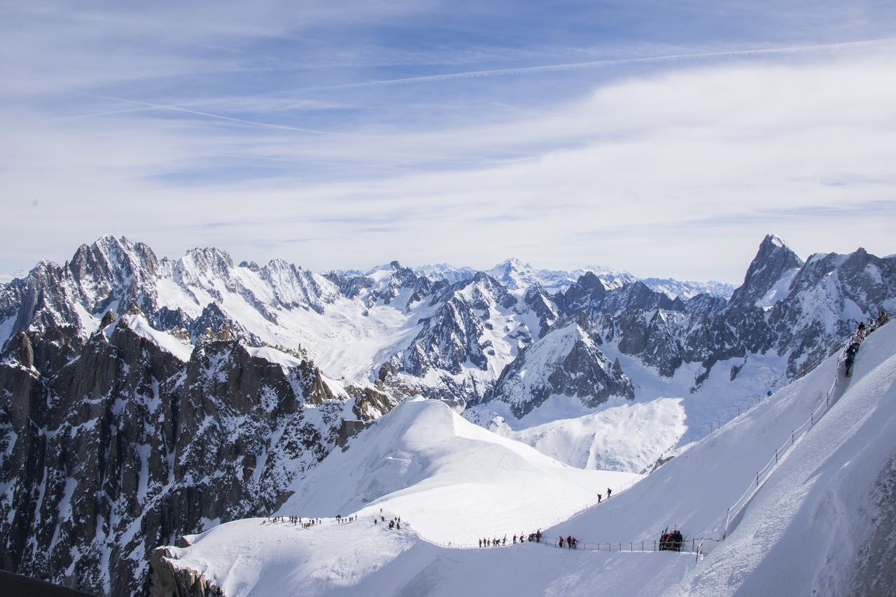 For extreme sports in France go to Chamonix