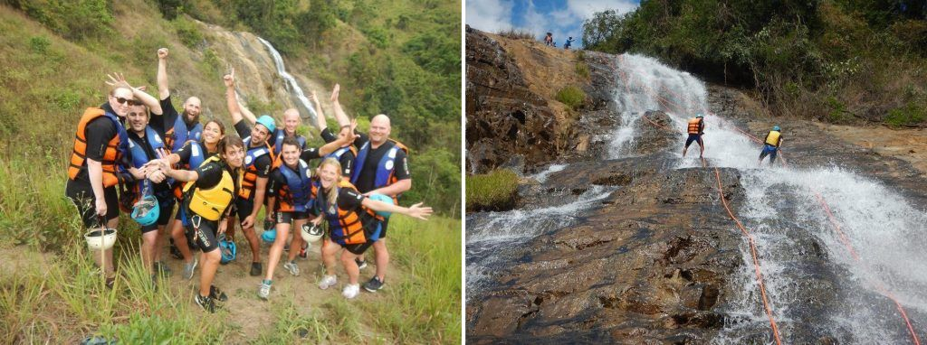 guide to vietnam go canyoning in Dalat