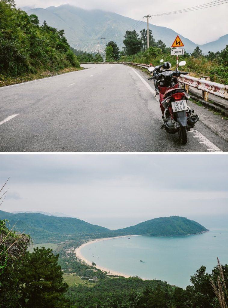 guide to vietnam take a motorbike around High Van Pass