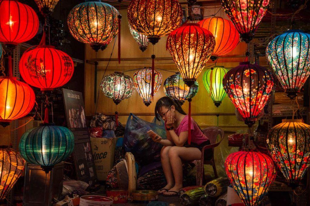 guide to vietnam, hoi an lantern festival