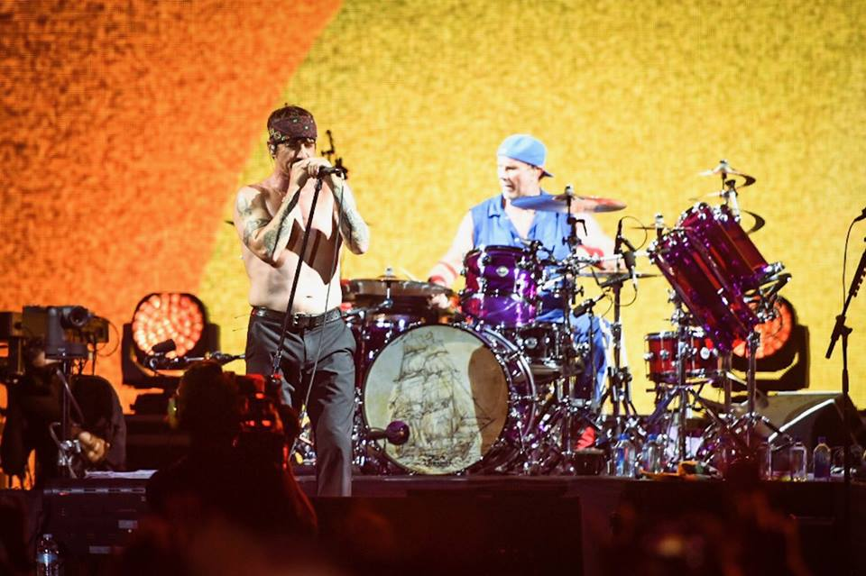 Red Hot Chili Peppers at Bonnaroo Music Festival