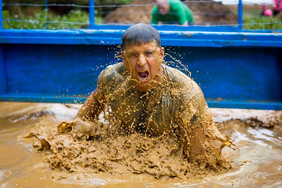 Savage Race mud bath