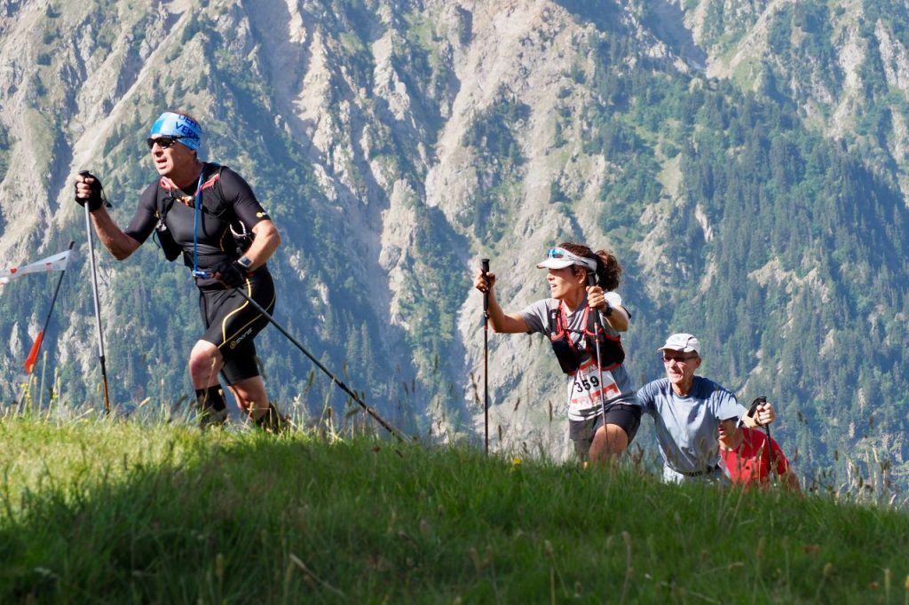 endurance events running in the Double Vertical du Diable