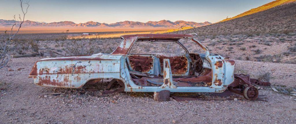 Southwest in Death Valley Nevada