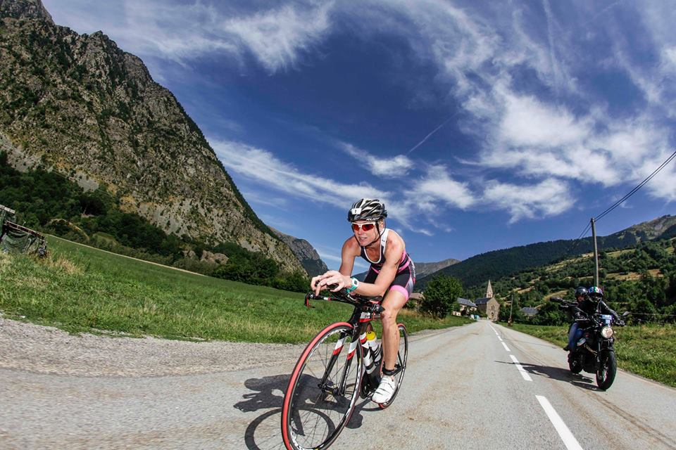 cyclist in Endurance Events in Les Deux Alpes and Alpe D'Huez