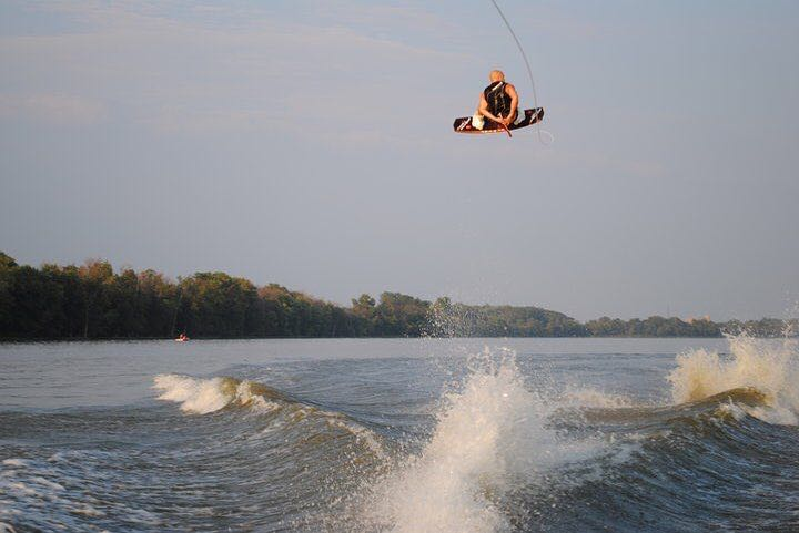 Wakeboarding event Hangtime Double Up Pro in Portland, Oregon