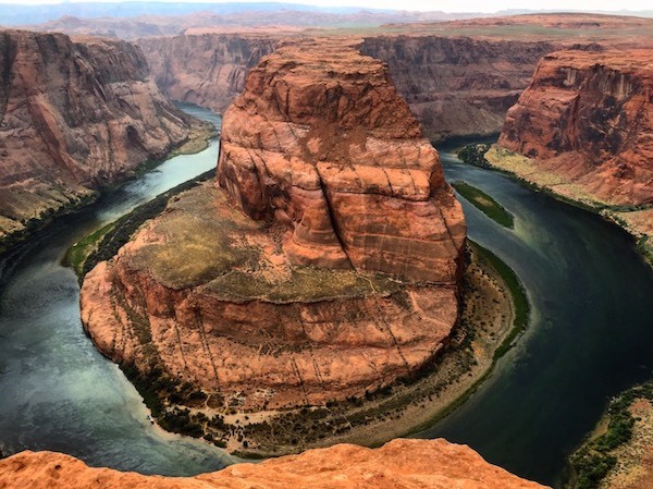 southwest in horseshoe-bend-utah