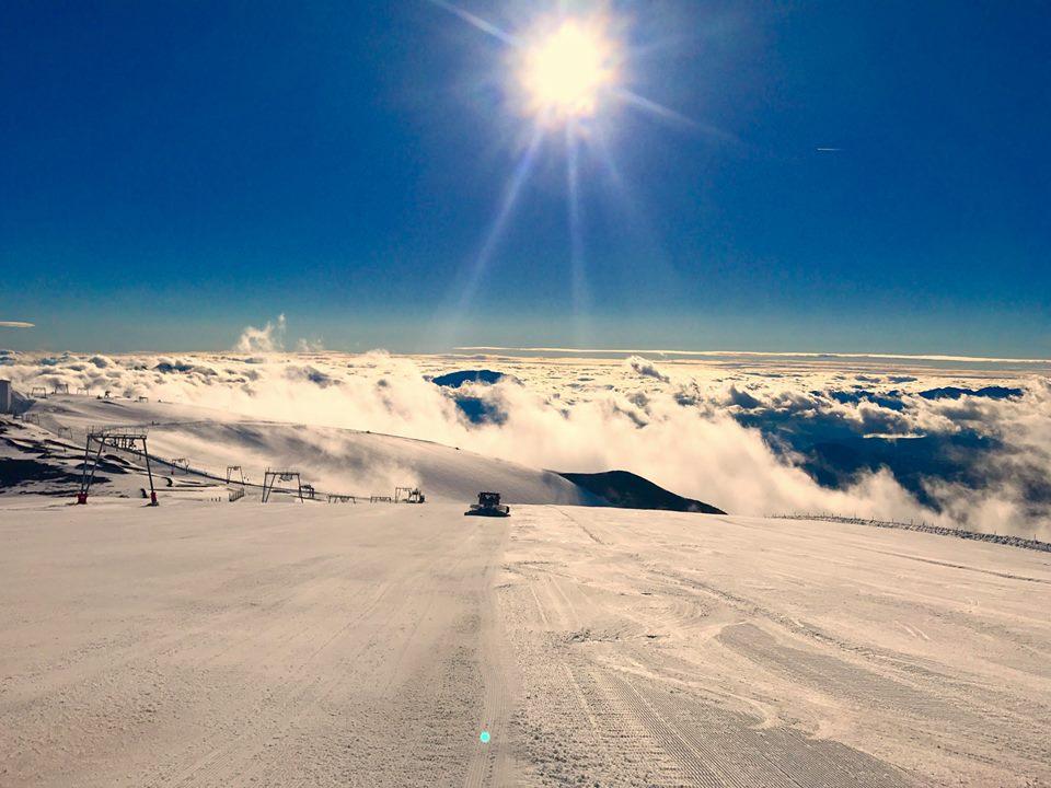 Les Deux Alpes glacier